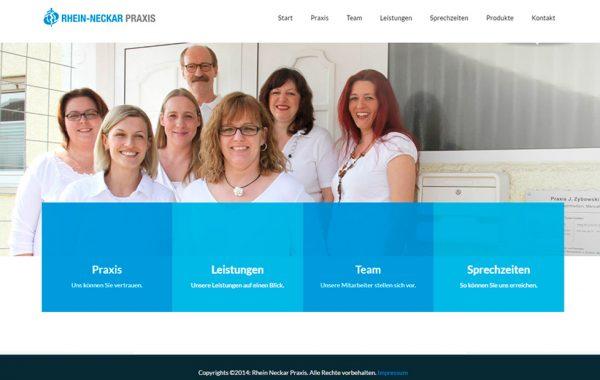 Corporative website