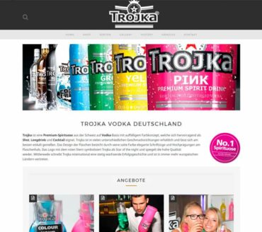 Corporative website & Online shop