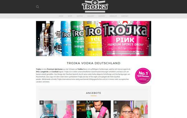 Corporative website & Online shop